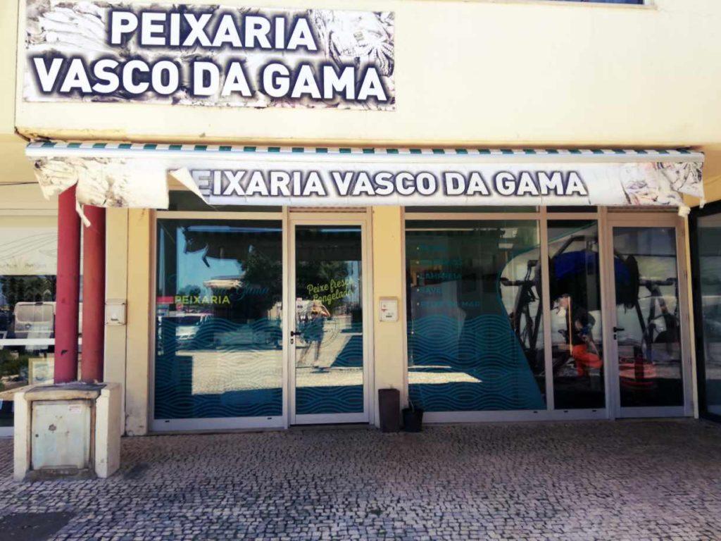 Owoce morza i ryby w Portugalii - sklep rybny