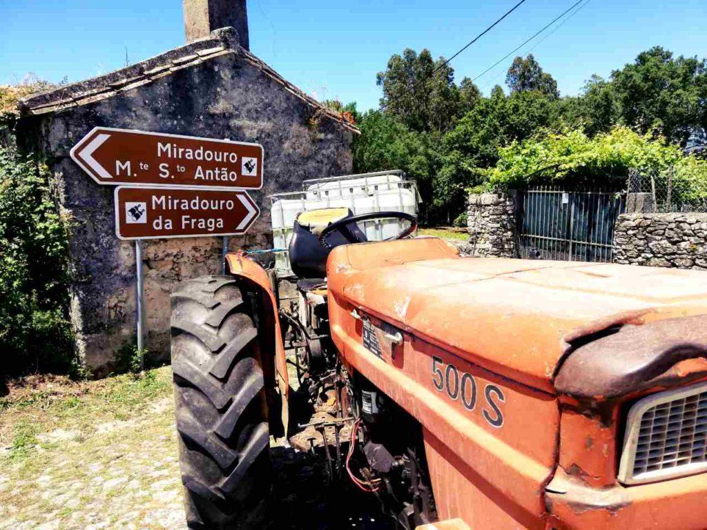 Północna Portugalia - Caminha - droga na punkty widokowe