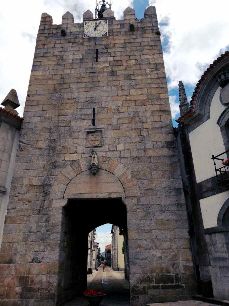 Północna Portugalia - Caminha - wieża