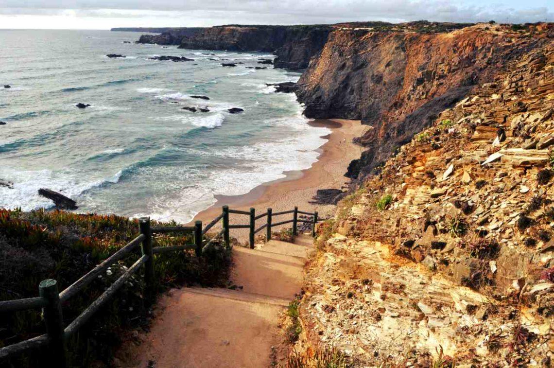 Południowa Portugalia - Costa Alentejana - plaża