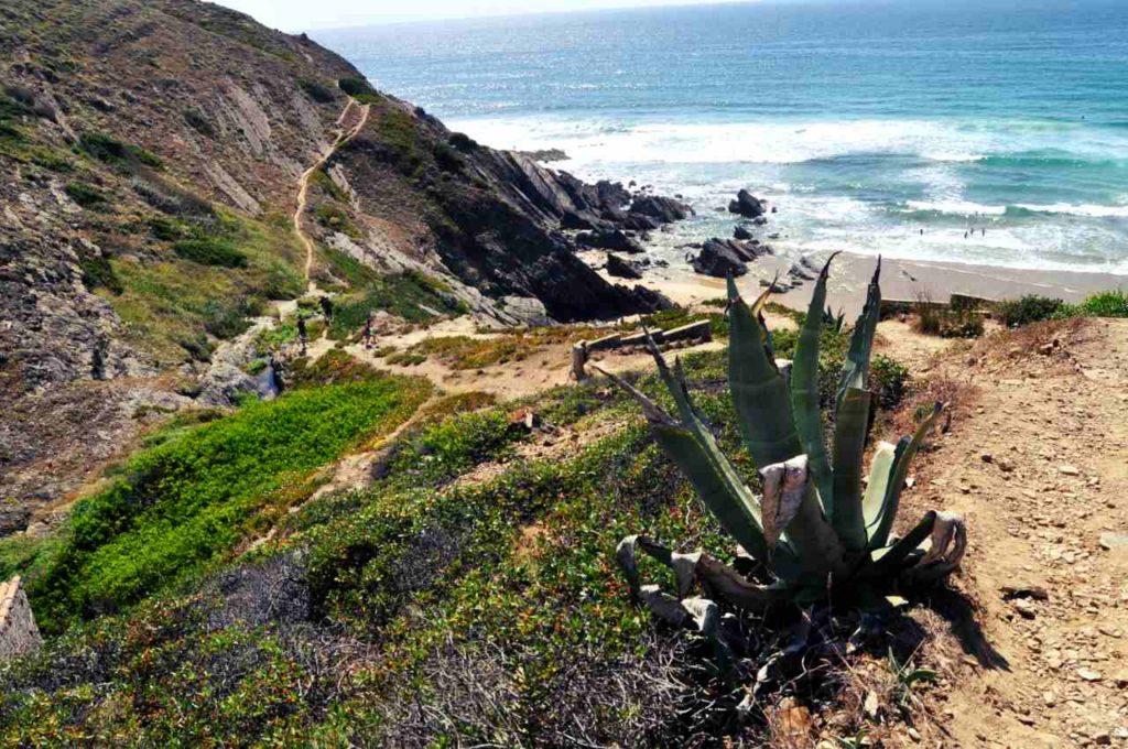 Południowa Portugalia - Costa Alentejana - Praia da Amalia