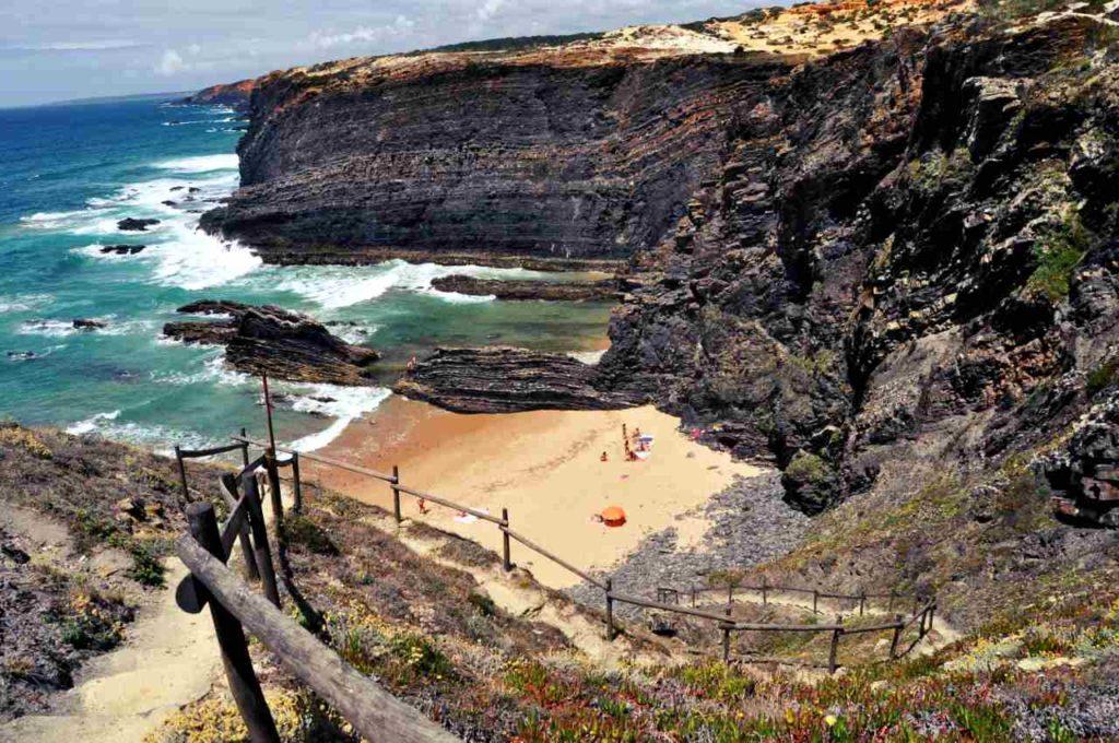 Południowa Portugalia - Costa Alentejana - Praia do Cavaleiro