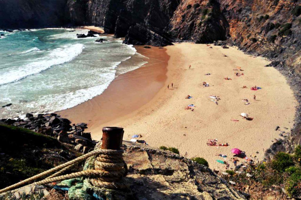 Południowa Portugalia - Costa Alentejana - Praia do Tonel