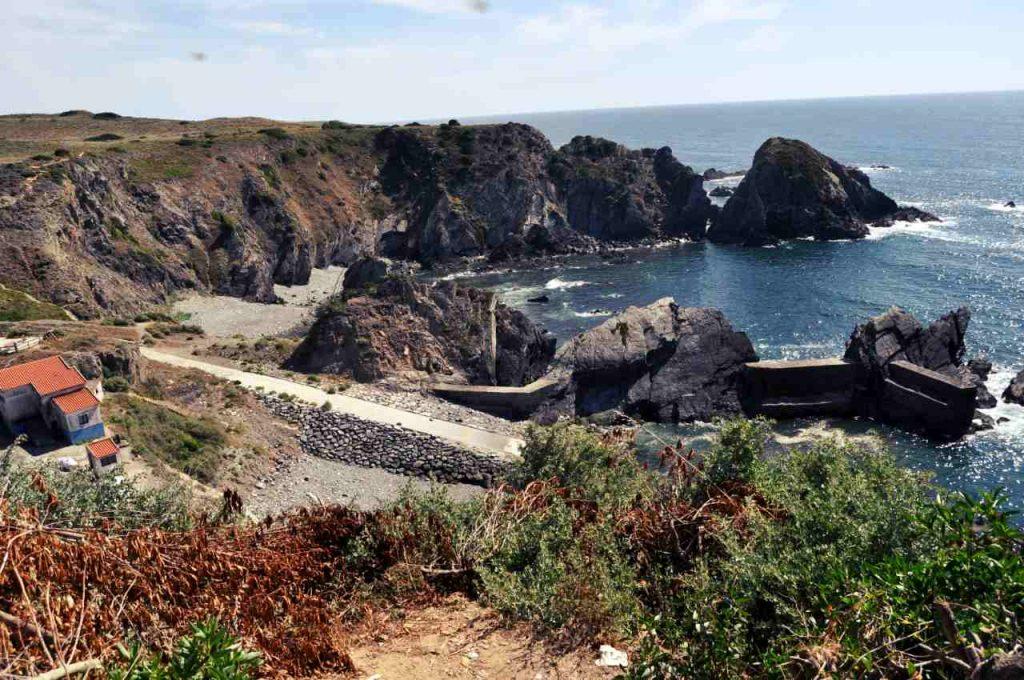 Plaże Costa Alentejana - Praia da Azenha do Mar