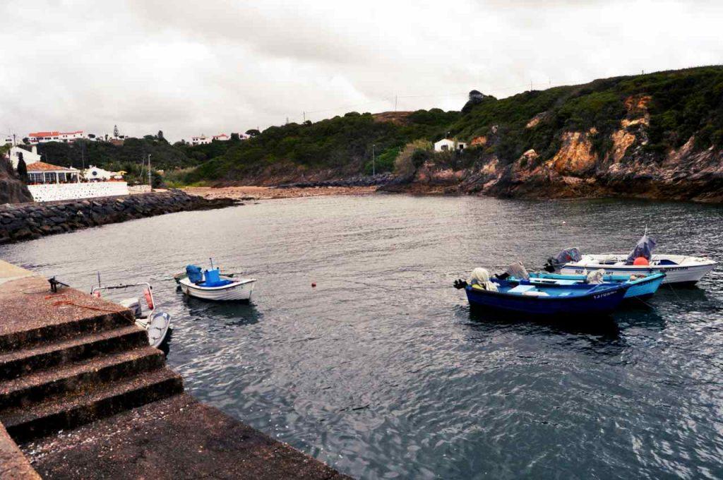 Plaże Costa Alentejana - Praia da Baia de Porto Covo