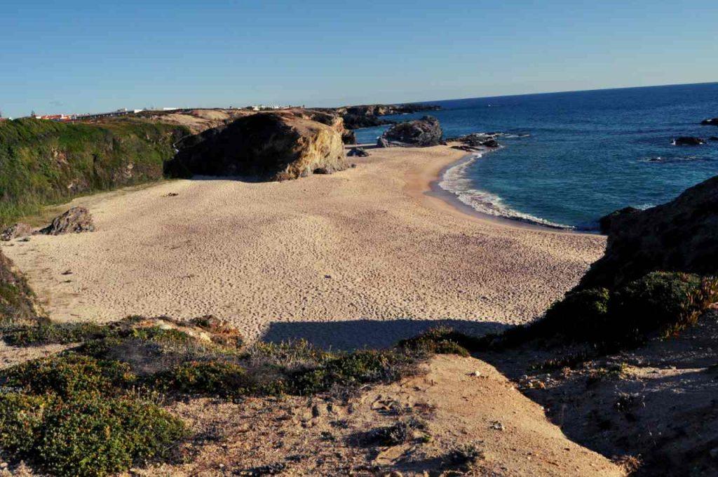 Plaże Costa Alentejana - Praia da Cerca Nova