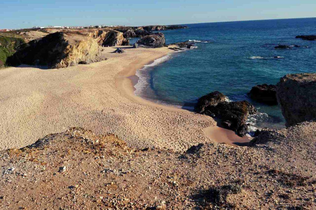 Plaże Costa Alentejana - Praia da Cerca Nova - panorama