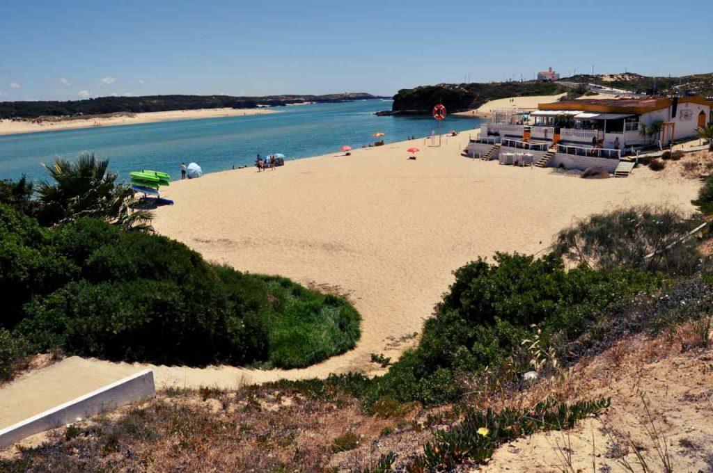 Portugalia Plaże Costa Alentejana - Praia da Franquia