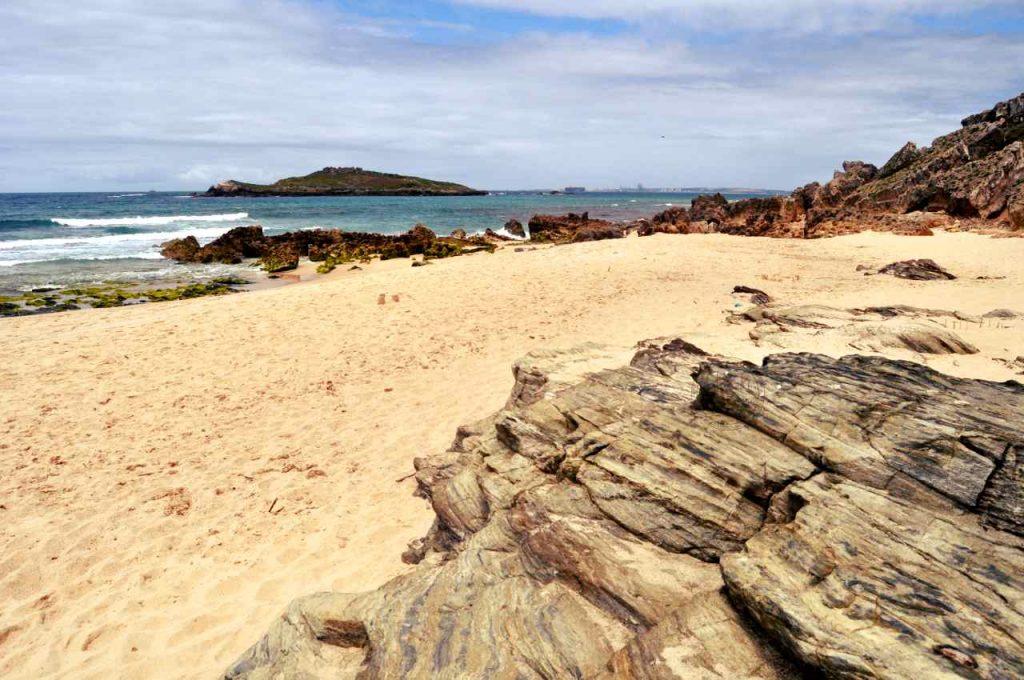 Plaże Costa Alentejana - Praia da Ilha do Pessegueiro - wyspa