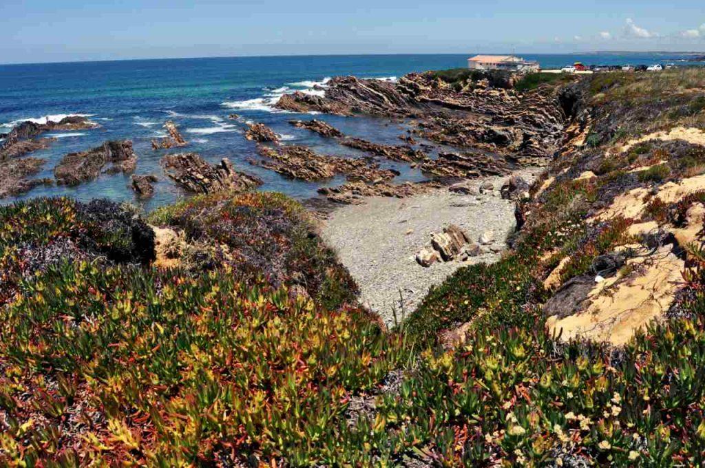 Plaże Costa Alentejana - Praia da Poca do Buraco