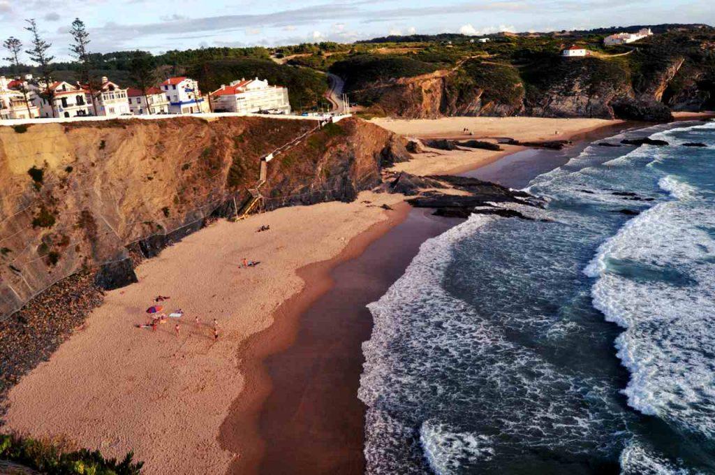 Plaże Costa Alentejana - Praia da Zambujeira do Mar
