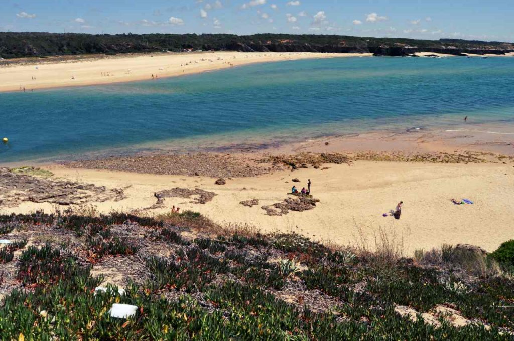 Portugalia Plaże Costa Alentejana - Praia das Furnas - Praia do Farol