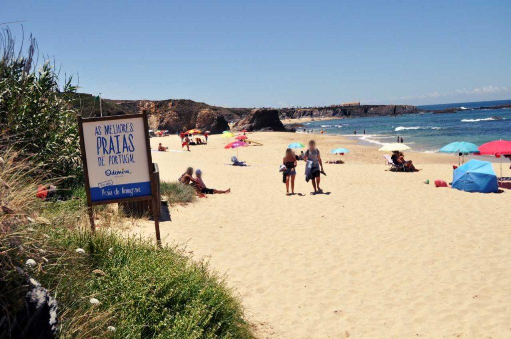 Plaże Costa Alentejana - Praia de Almograve