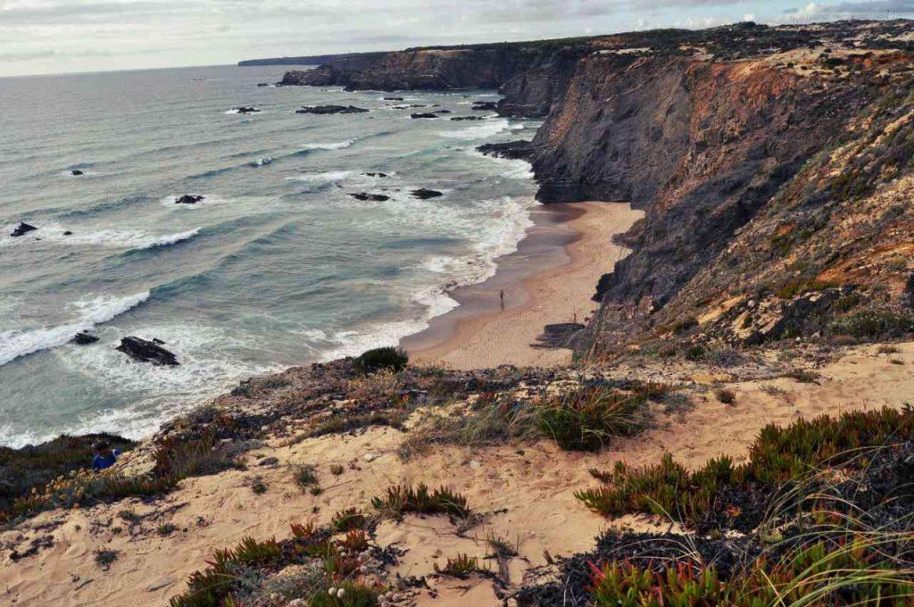 Plaże Costa Alentejana - Praia de Nossa Senhora