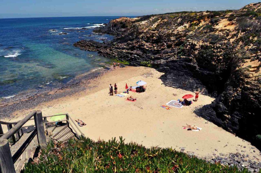 Plaże Costa Alentejana - Praia de Nossa Senhora, Almograve
