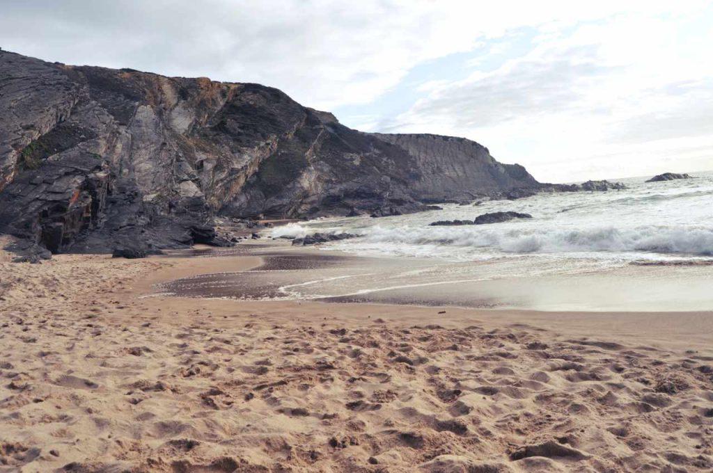 Plaże Costa Alentejana - Praia de Nossa Senhora - wybrzeże