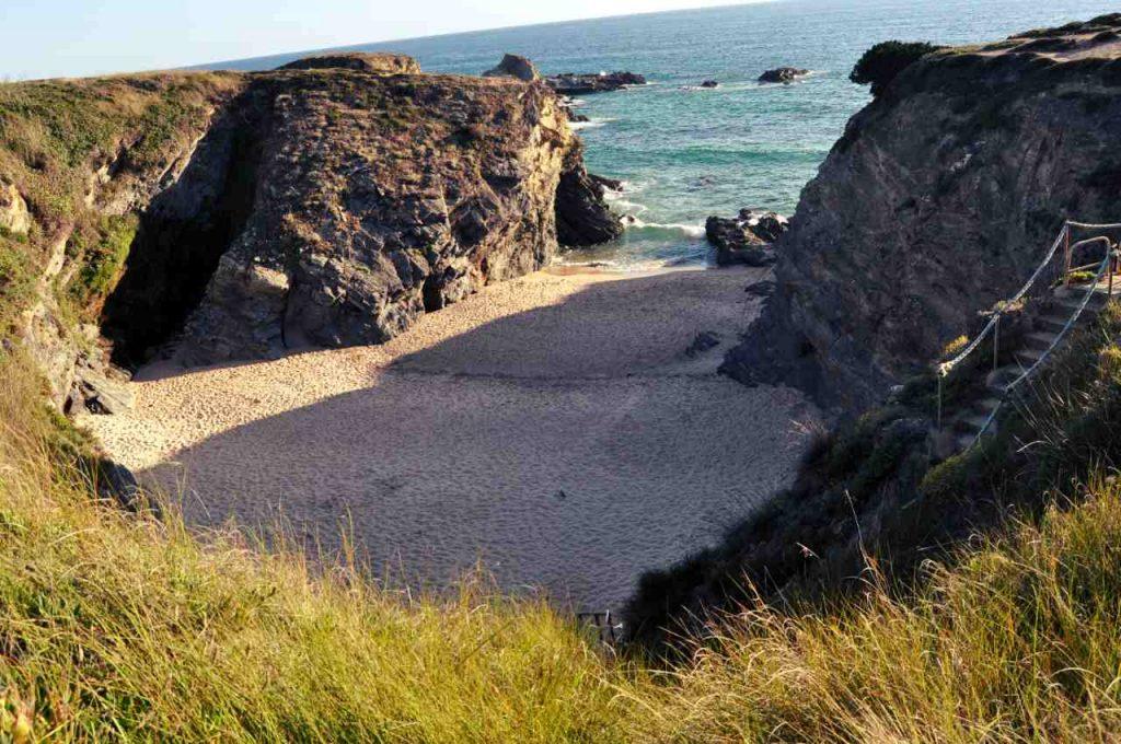 Plaże Costa Alentejana - Praia de Porto Covinho
