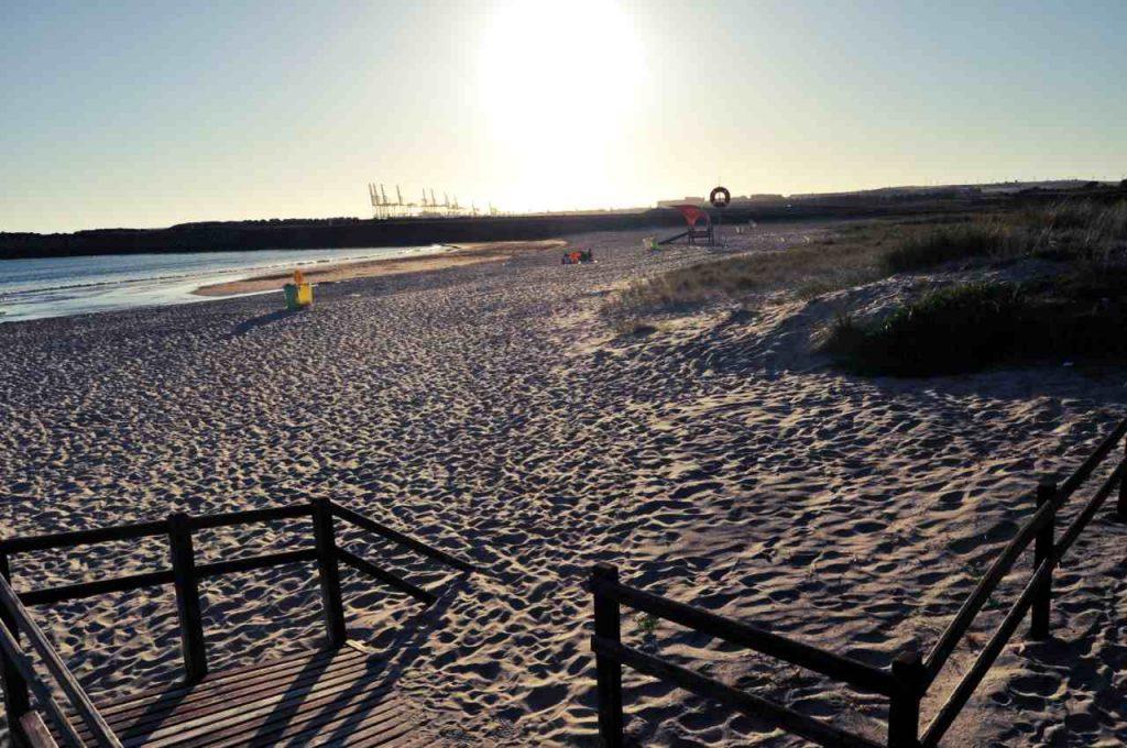 Plaże Costa Alentejana - Praia de Sao Torpes