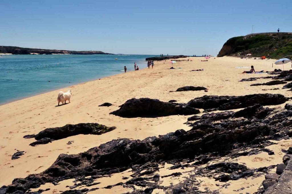 Portugalia Plaże Costa Alentejana - Praia de Vila Nova Milfontes