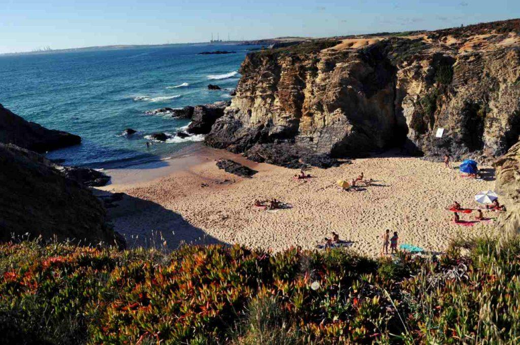 Plaże Costa Alentejana - Praia do Banho