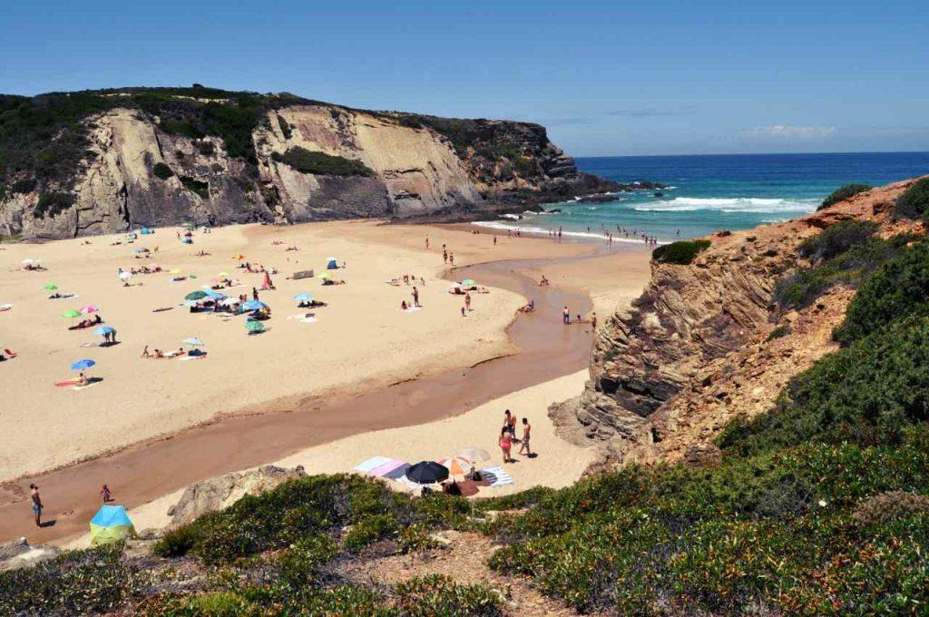 Plaże Costa Alentejana - Praia do Carvalhar