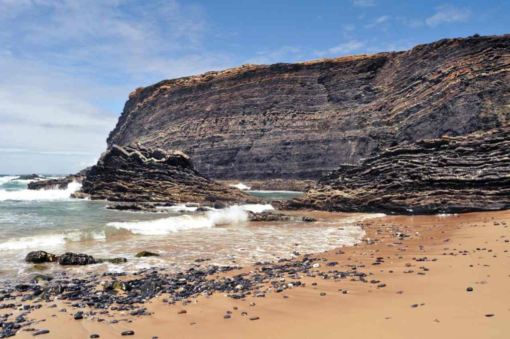 Plaże Costa Alentejana - Praia do Cavaleiro