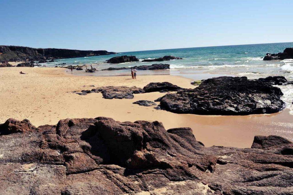 Plaże Costa Alentejana - Praia do Malhao - wybrzeże