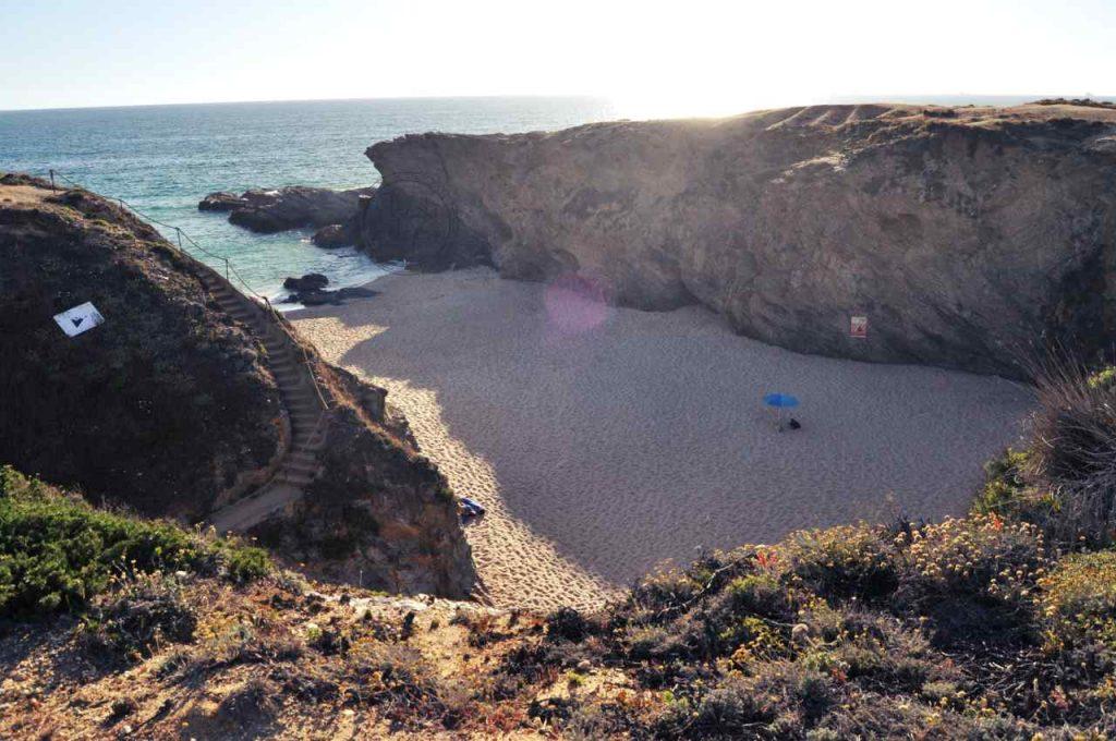 Plaże Costa Alentejana - Praia do Salto - z góry