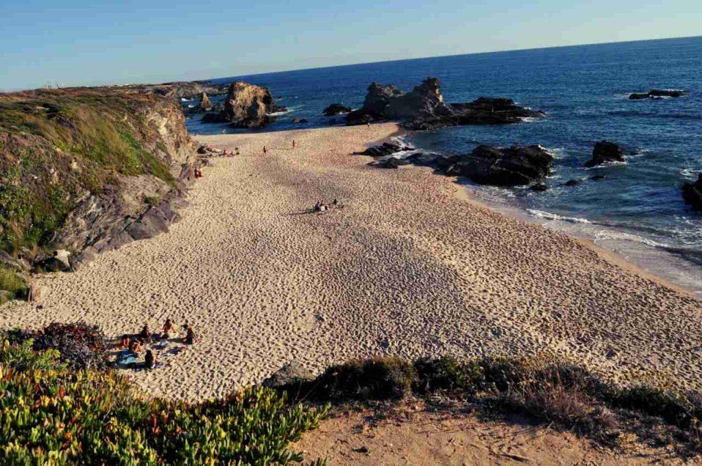 Plaże Costa Alentejana - Praia do Samoqueira