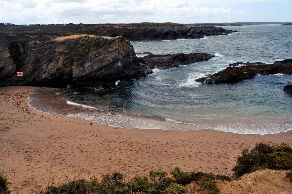 Plaże Costa Alentejana - Praia dos Buizinhos