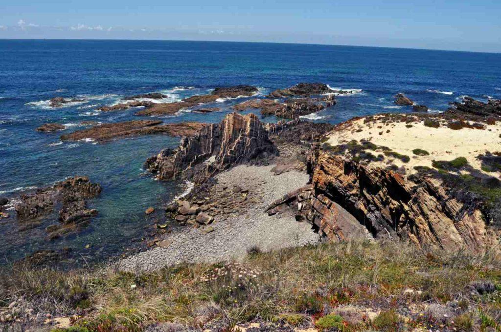 Plaże Costa Alentejana - Praia dos Carricos