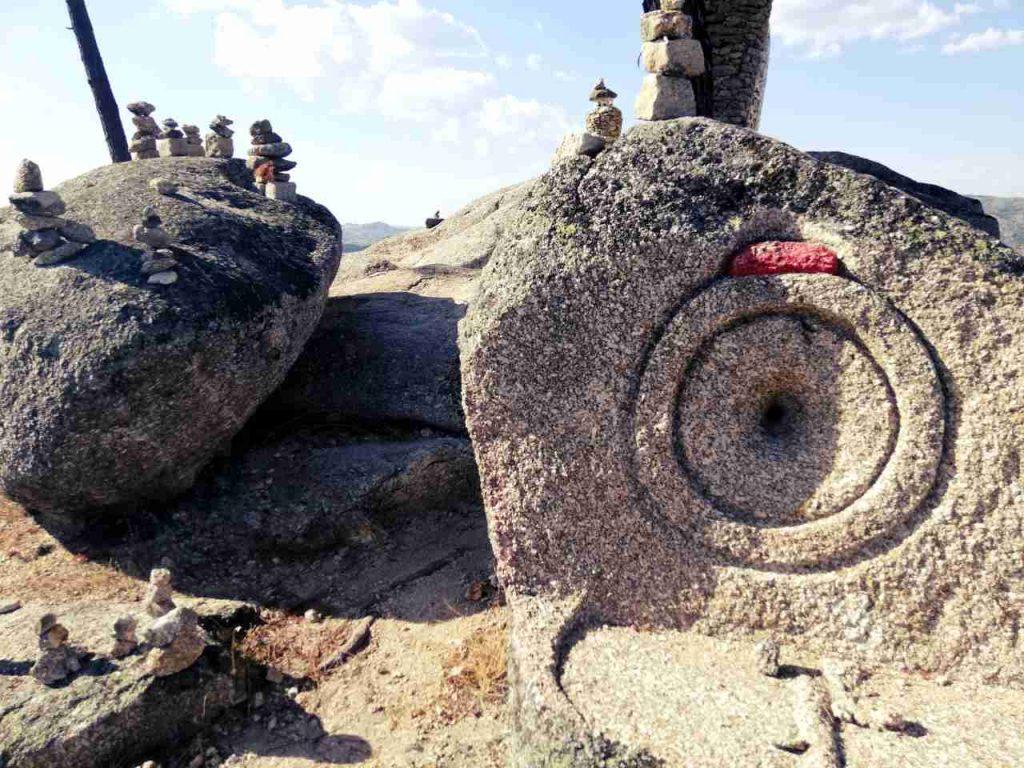 Sortelha - kamień