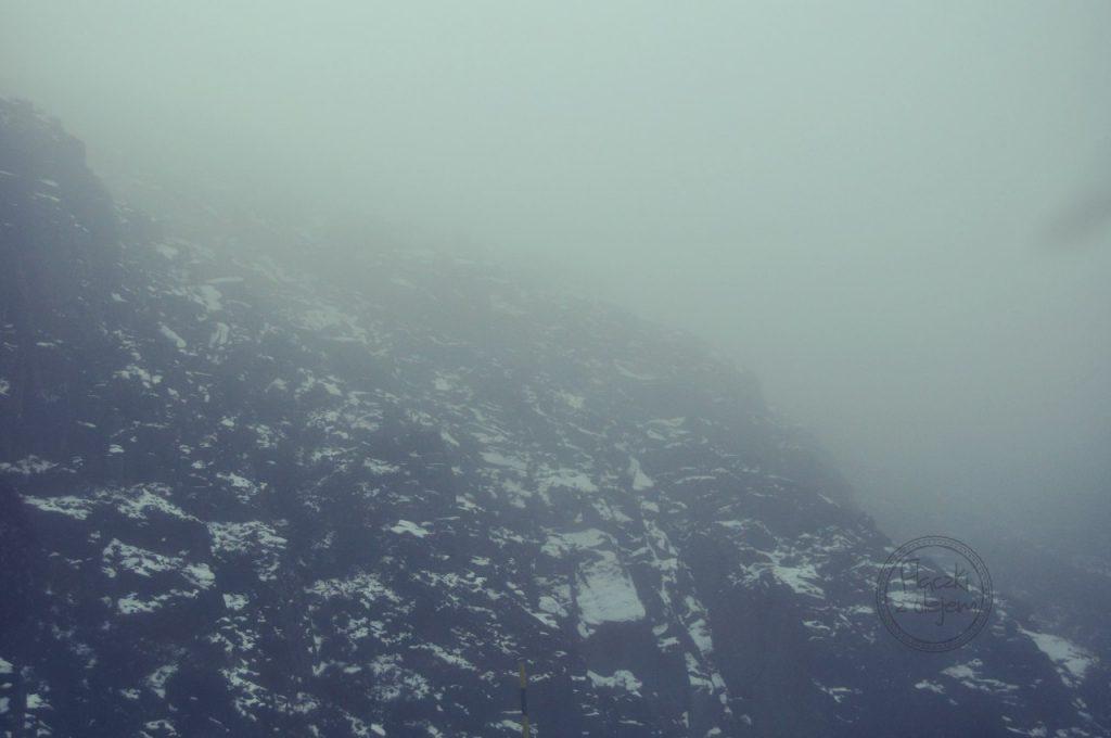 Czy w Portugalii pada śnieg - mgła
