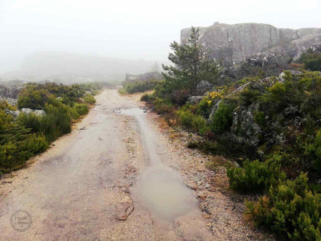 Covão dos Conchos - szlak pieszy