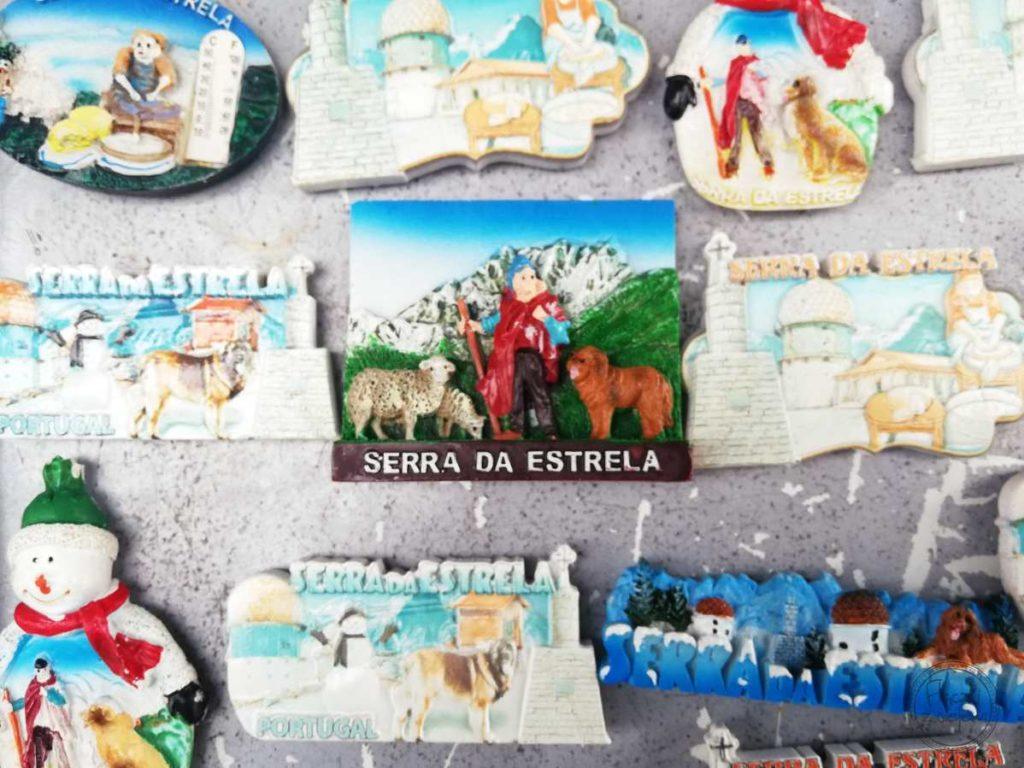 Serra da Estrela - magnesy na lodówkę