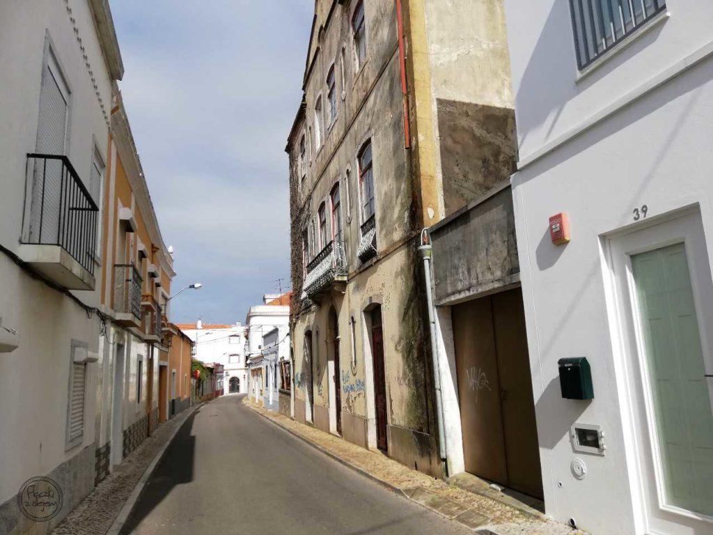 Grândola - miasteczko - ulica