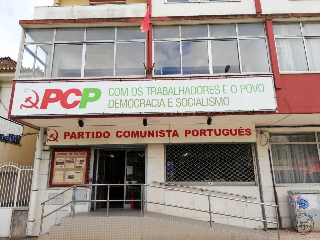 Grândola - siedziba partii komunistycznej