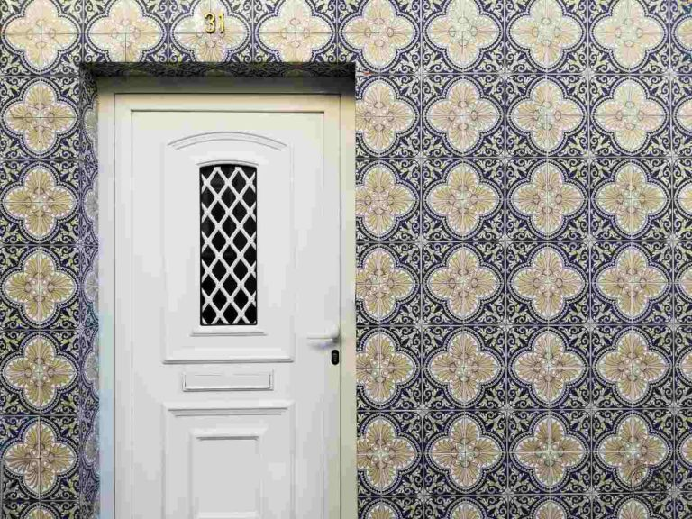Miasteczko Vila Nova de Cerveira - azulejos - portugalskie płytki
