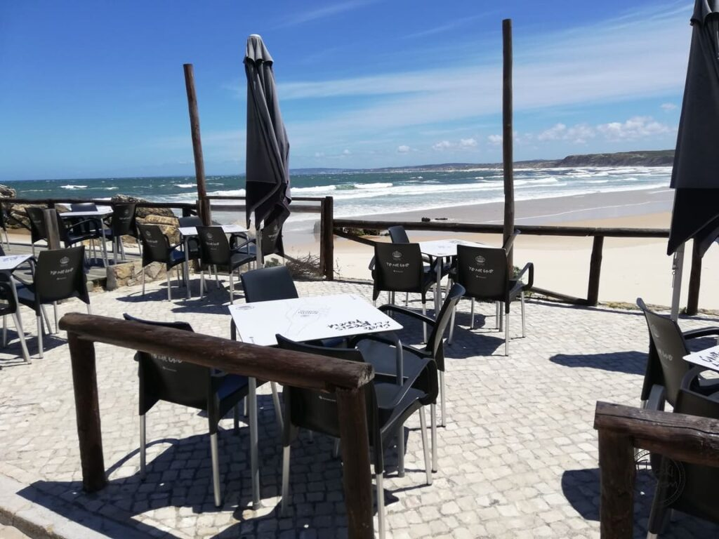 Baleal - kawiarnie