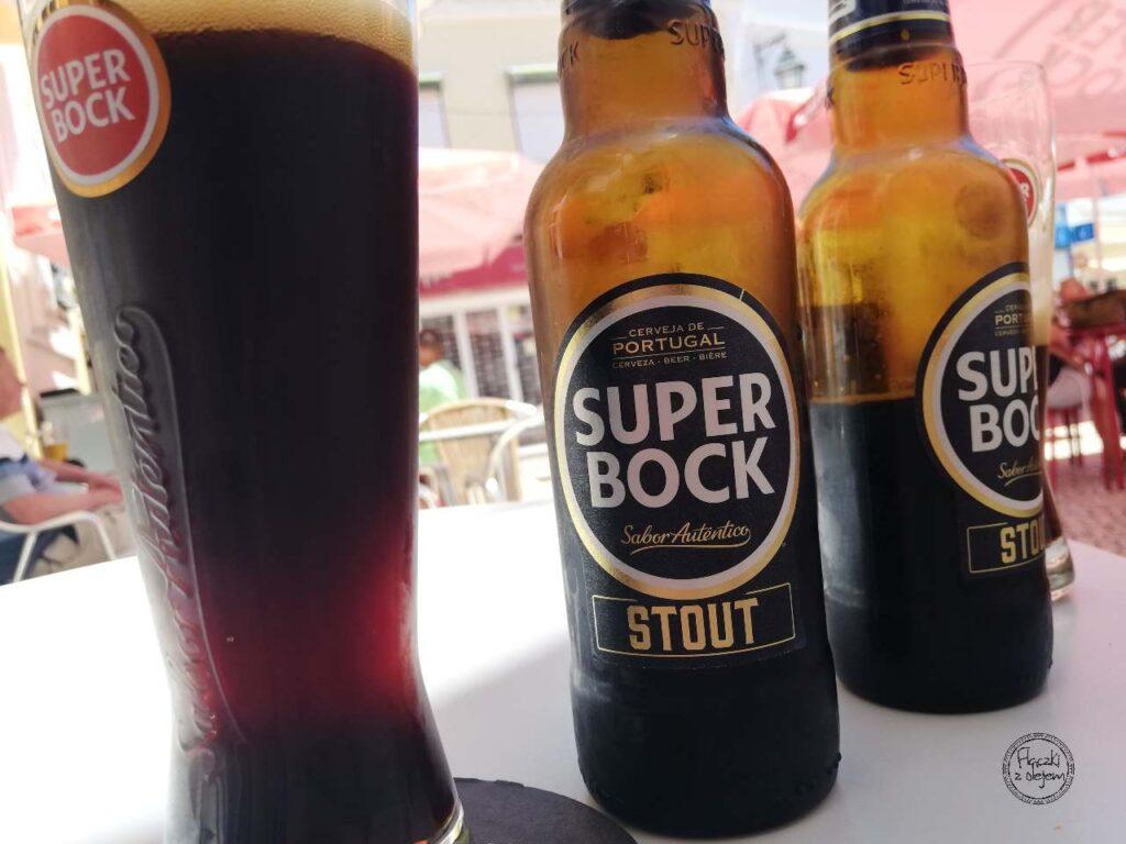 Piwo w Portugalii - super bock czarne