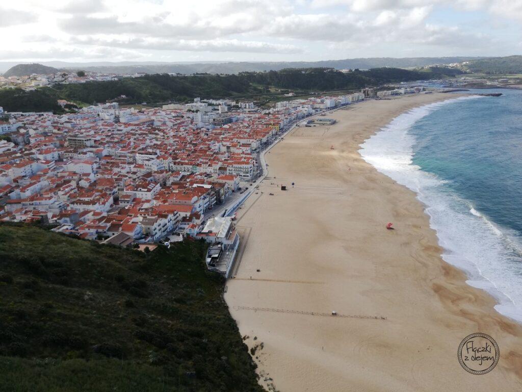 Portugalia - Nazare - krajobraz