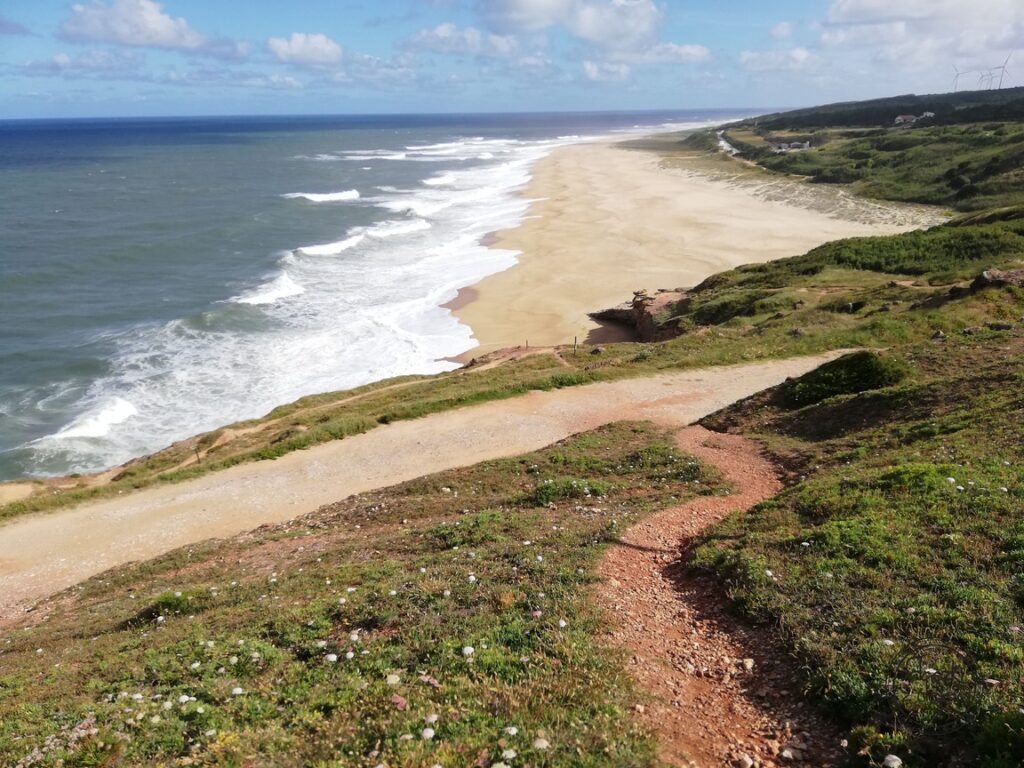 Portugalia - Nazare - Praia do Norte