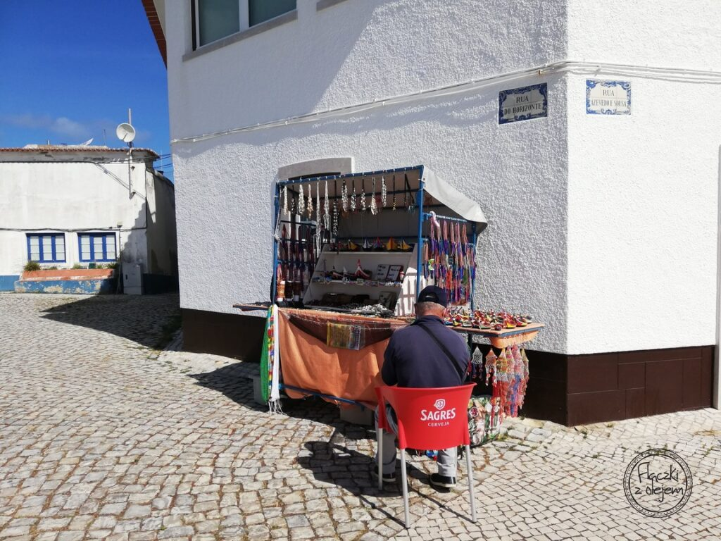 Portugalia - Nazare - sklepik z pamiątkami